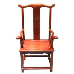 大板配件|椅凳  巴花官帽椅