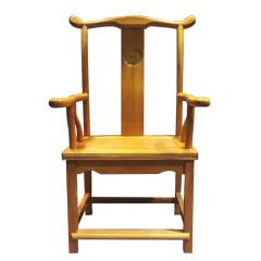 椅凳非洲黄花梨官帽椅