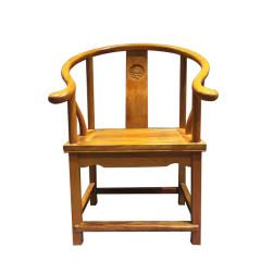 椅凳非洲黄花梨圈椅