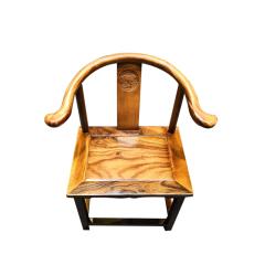 椅凳胡桃木半圈椅
