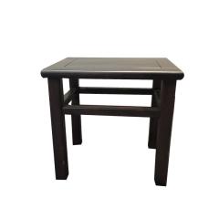 椅凳黑檀方凳
