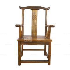 坐具|奥坎  官帽椅(平头)测试拍下无效