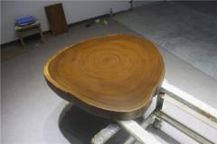 非洲柚木实木大板 圆盘 100-95-10RH-4711