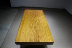 非洲柚木实木大板 全心 181-82-10.5RH-4615古田工厂