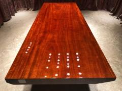 LATL129红塔利实木大板 半方 280.5*100*9.5