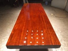 LATL123红塔利实木大板 半方 257*89*9.5