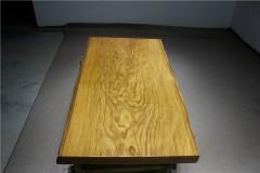 非洲柚木实木大板 自然边 180-92-84-8RH-4621古田工厂