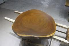 非洲柚木实木大板 圆盘 99-99-8RH-4714