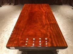 LATL122红塔利实木大板 半方 169.5*85*8