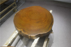 非洲柚木实木大板 圆盘 95-84-10RH-4715