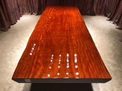 LATL127红塔利实木大板 自然边 340*116*120*9.5