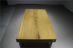 非洲柚木实木大板 全心 155-80-10RH-4743古田工厂
