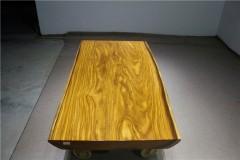 非洲柚木实木大板 自然边 182-90-94-10RH-4620古田工厂