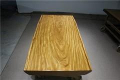 非洲柚木实木大板 自然边 177-83-83-10RH-4629古田工厂