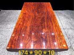 巴花实木大板 半方 174*90*10 LD 有视频  质量有保证