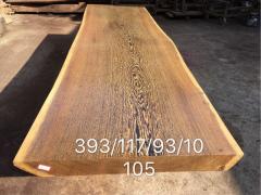 鸡翅木实木大板 自然边 393*105*10
