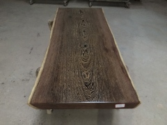 鸡翅木实木大板 自然边 193*76*7 送珍珠棉