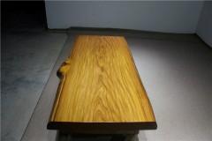非洲柚木实木大板 自然边 188-84-85-10RH-4618古田工厂
