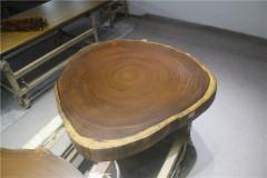 非洲柚木实木大板 圆盘 102-101-10RH-4713
