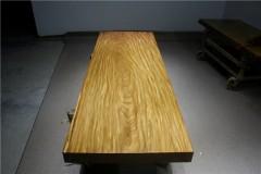 非洲柚木实木大板 全方 233-80-10RH-4625古田工厂