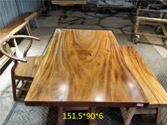 南美胡桃木实木大板 全方 151.5*90*6