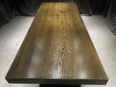 鸡翅木实木大板 全方 全心215*86.5*9.7老黑上